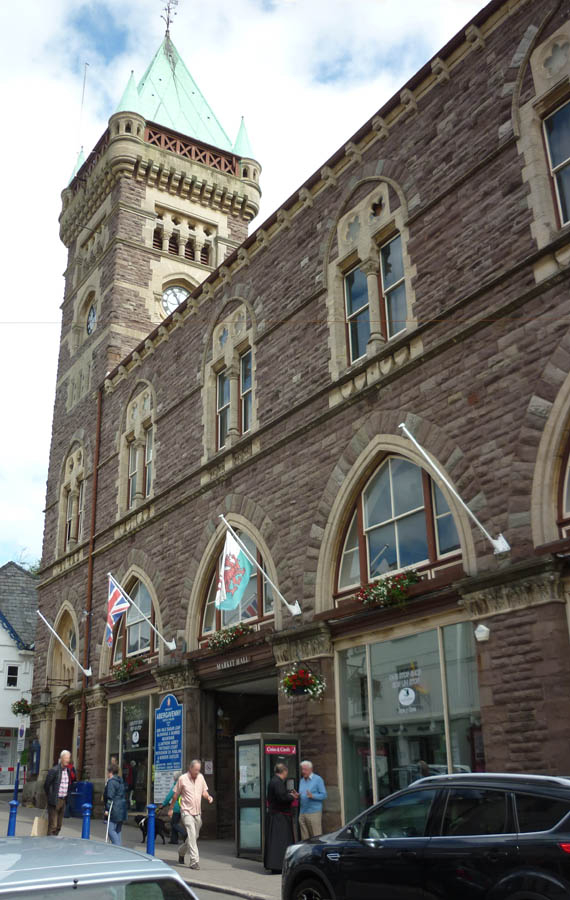 Town Hall And One Stop Shop Abergavenny Local History